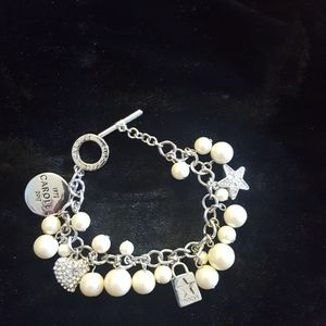 Carolee charm anniversary 40 year bracelet